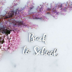 Чипборд Back to School - 2, 7 см
