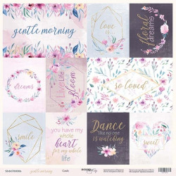 Лист бумаги Gentle Morning - Cards, 30х30 см