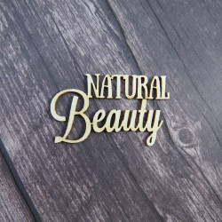 Чипборд Natural Beauty, 4,5х2,7см