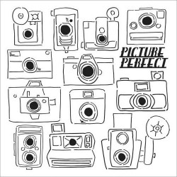 Трафарет Crafter\'s Workshop Picture Perfect, 15х15 см