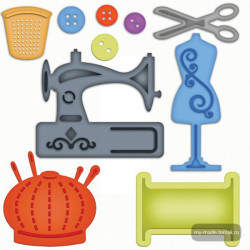 Форма для вырубки Sewing Elements, 10 шт (Скидка 40%)