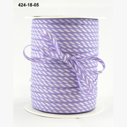 Лента Diagonal Stripes - Violet, ширина 3 мм, длина 1 м