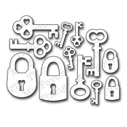 Форма для вырубки Keys & Locks