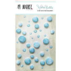 Эпоксидные капельки 49 And Market Epoxy Coated Wishing Bubbles - Cotton Candy, 38 шт